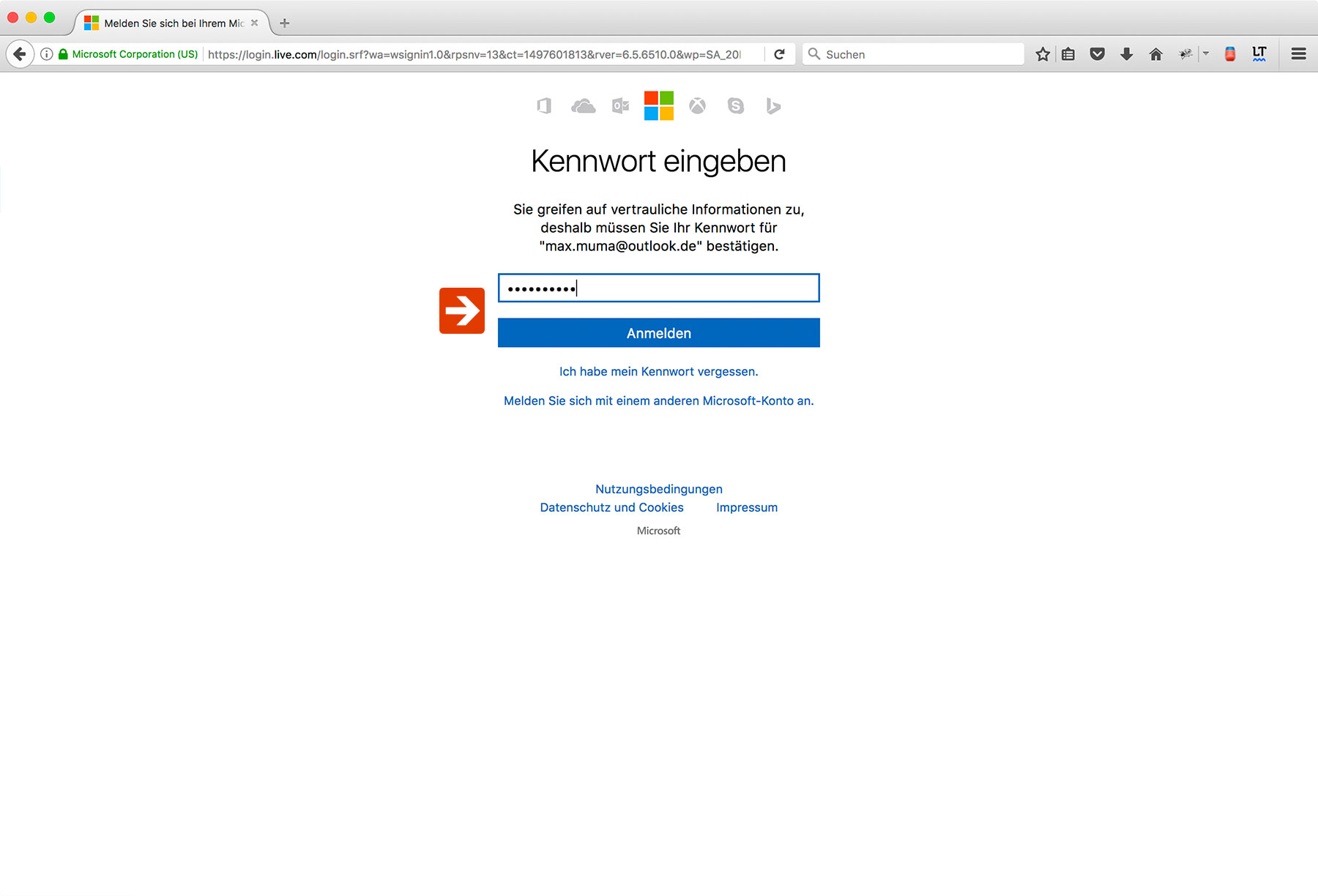 Outlook Two-Factor Authentication Step 4