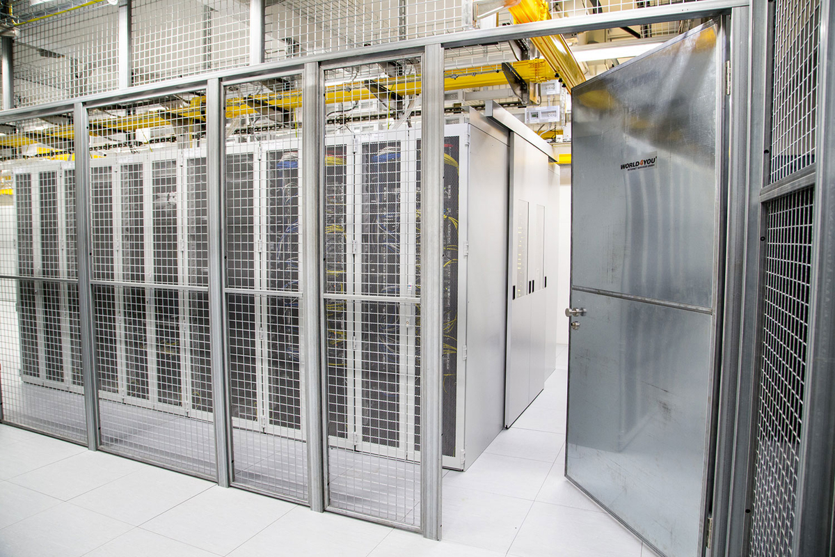 Welcome to the World4You data centre